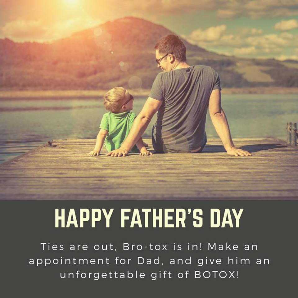 "Why ""Brotox"" – Botox for Men Could be the Perfect Gift this Father's Day"